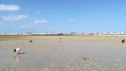 沖縄の伝統行事「サニズ(浜下り)」で女性の健康を祈願する