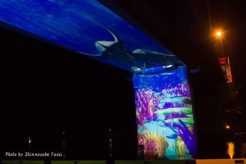 プロジェクションマッピングも上映!「サザンゲートブリッジ」のイルミネーションショーを見に行こう!