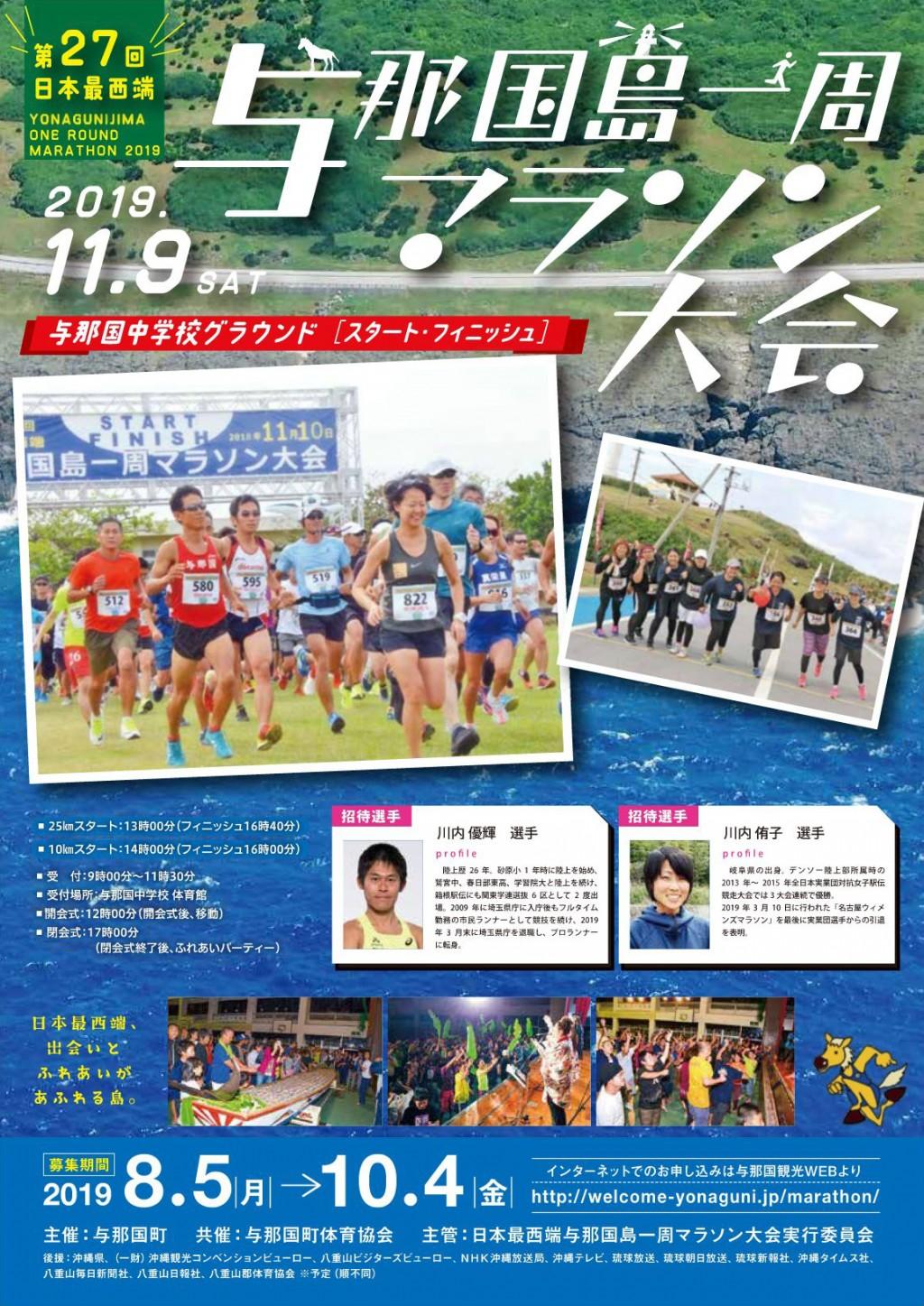 第27回日本西端与那国島一周マラソン