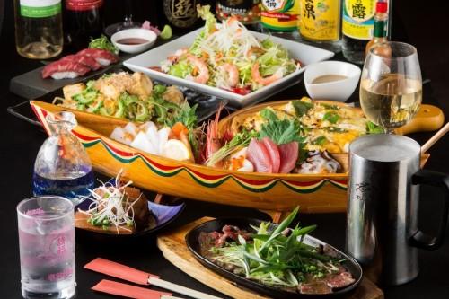 和洋中さまざまなお料理をご提供!