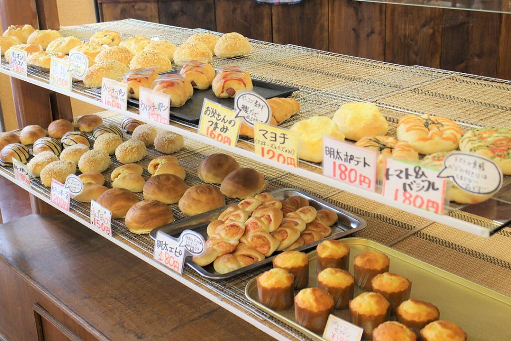 食パンが売り切れていた場合はお好きなパンを1つプレゼント♪